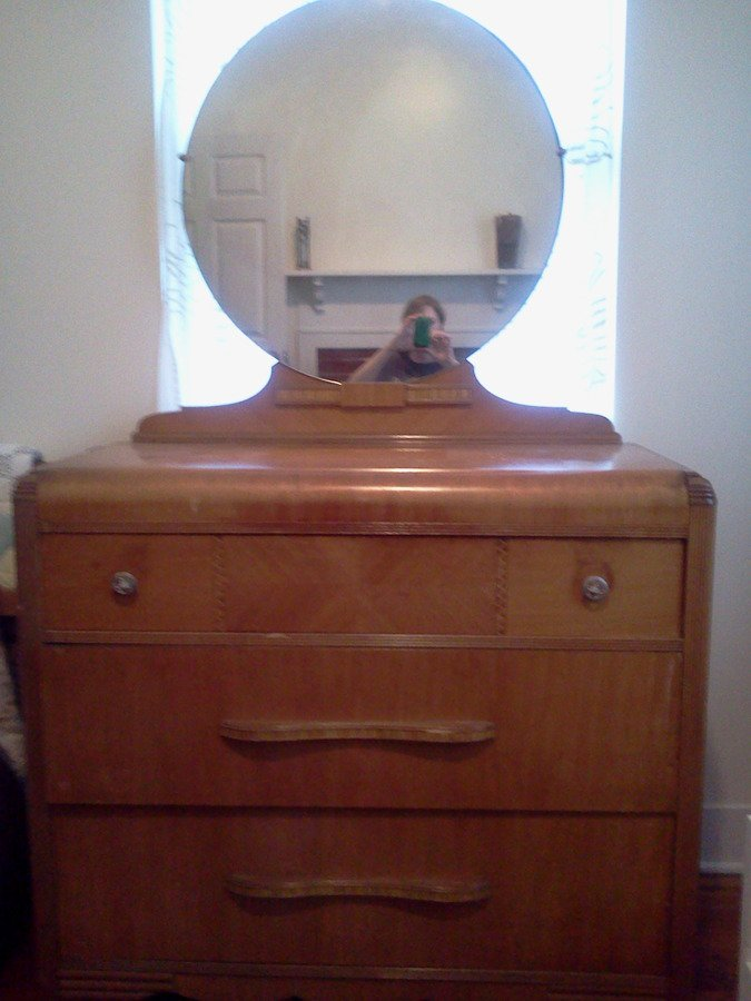 How Much Is My Waterfall Vanity And Dresser Worth There