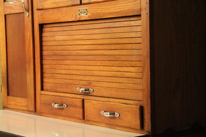 i have this hoosier cabinet by sellers we bought it a few how to refinish an old hoosier cabinet