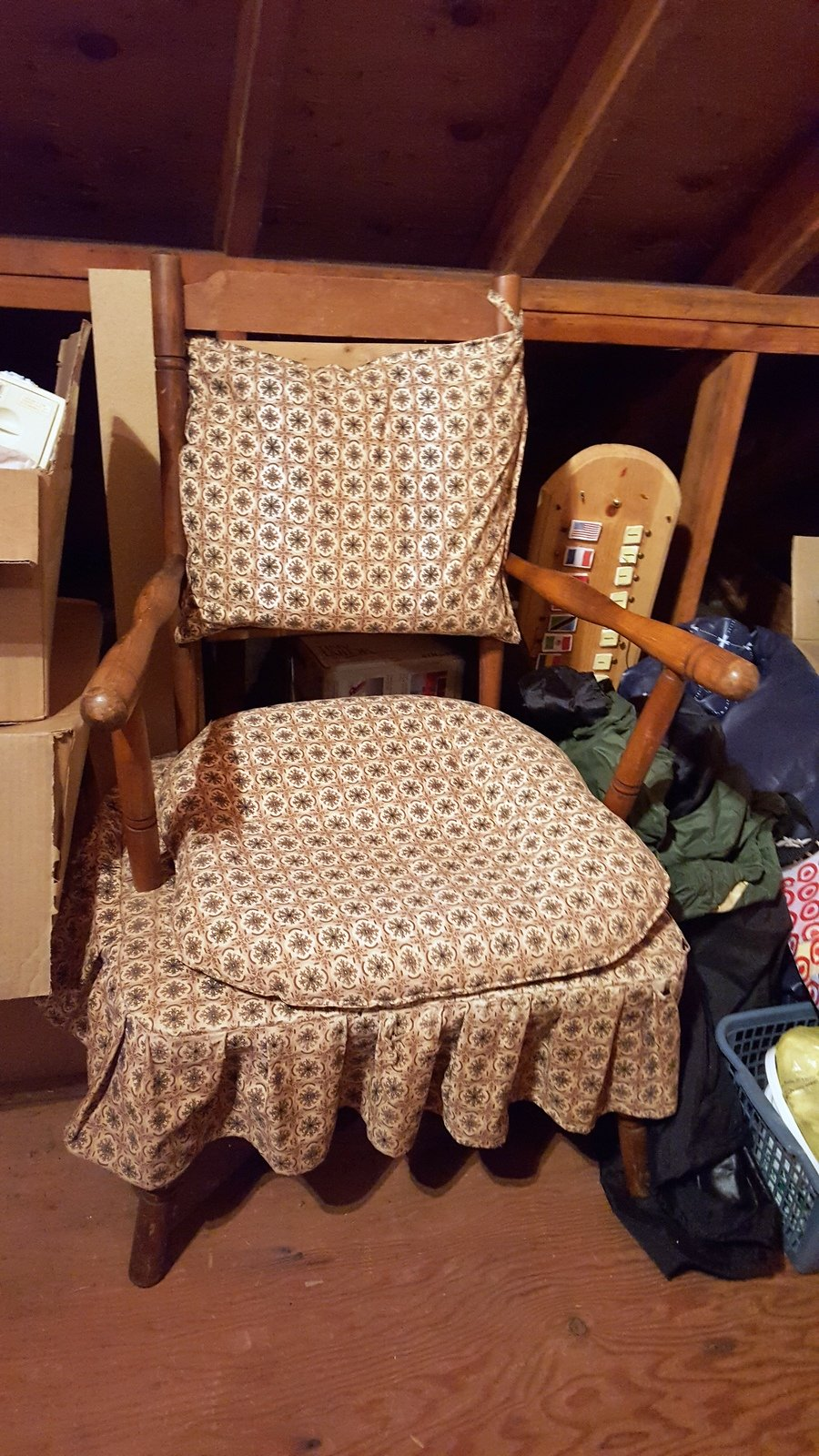 1940's Cricket Chair | My Antique Furniture Collection