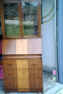 How Much Is This Secretary Desk Cabinet Worth My
