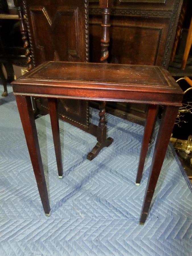 Weiman Mahogany Side Table 8369201 My Antique Furniture Collection