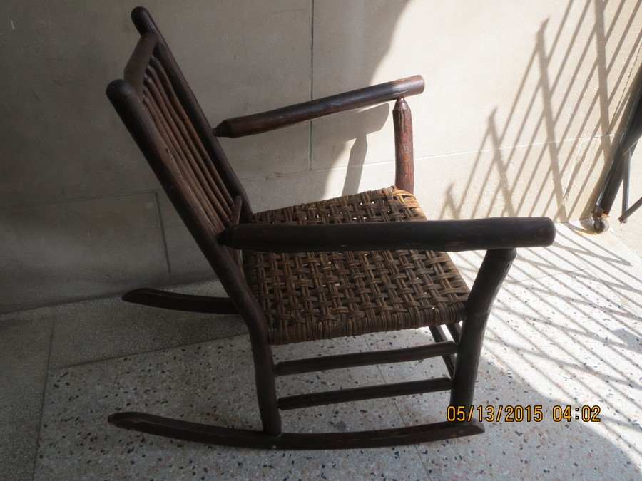 Value Of An Old Hickory Chair Company 1935 Rocking Chair