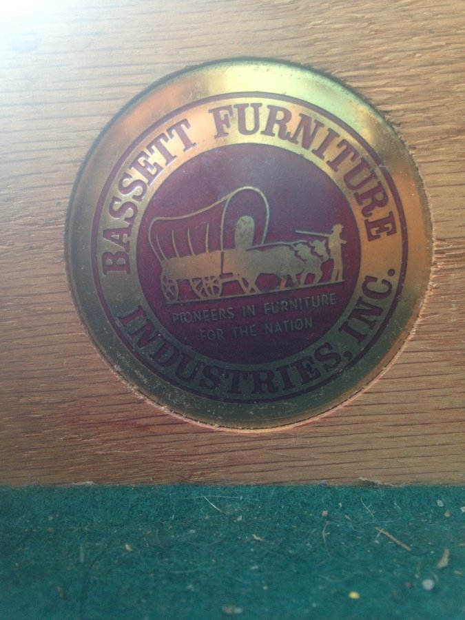 Bassett Furniture Industries Inc My Antique Furniture