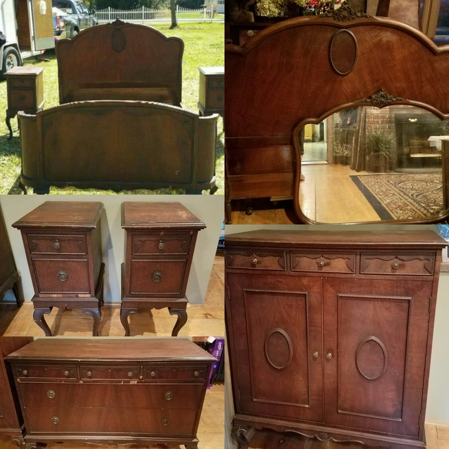 What Year Bedroom Set Is This? Any Idea On Value/worth