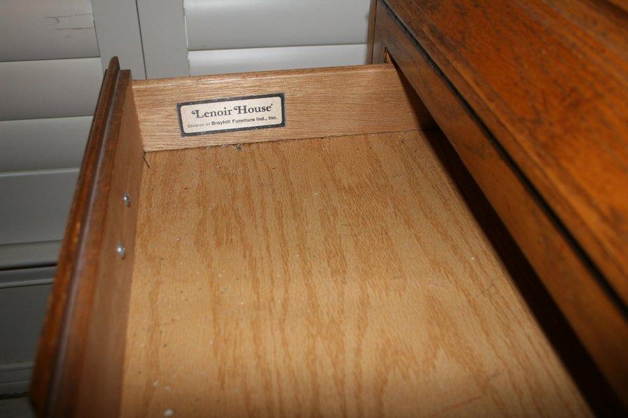 We Have Lenoir House By Broyhill Secretary Desk How Do I