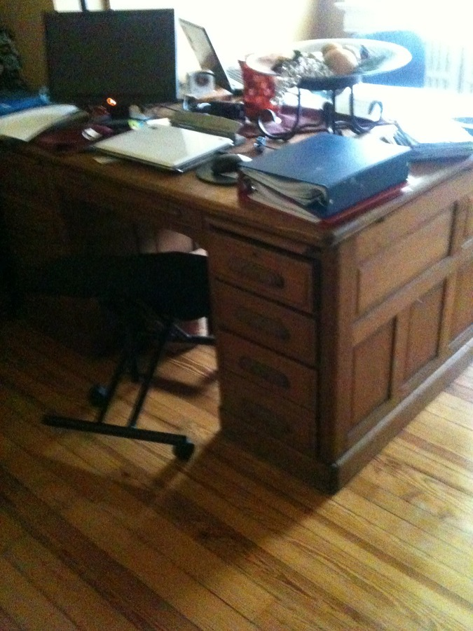 I Have A 31 4 Oak Partners Desk And I Want To Try To