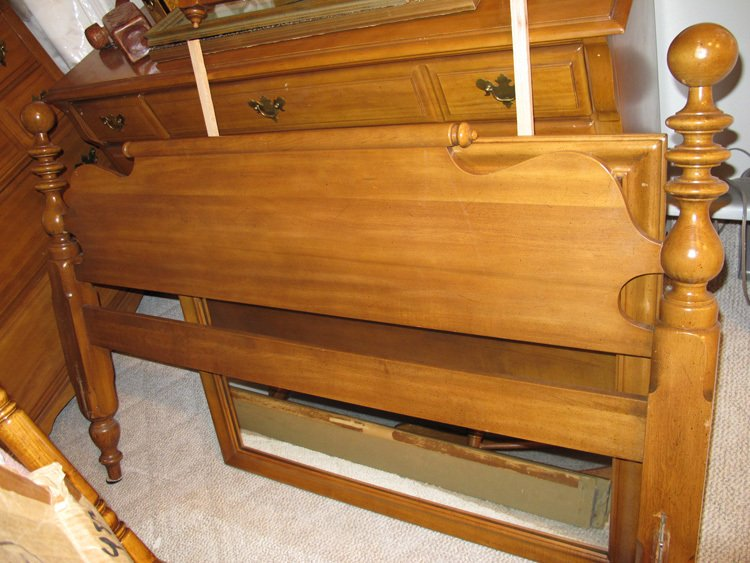 ... Rock Maple Furniture (Sprague Carleton, Keene, New Hampshire) (That Is  The Inscription In The Desk ) .. We Have A Tall Dresser, A Long Dresser  With A ...