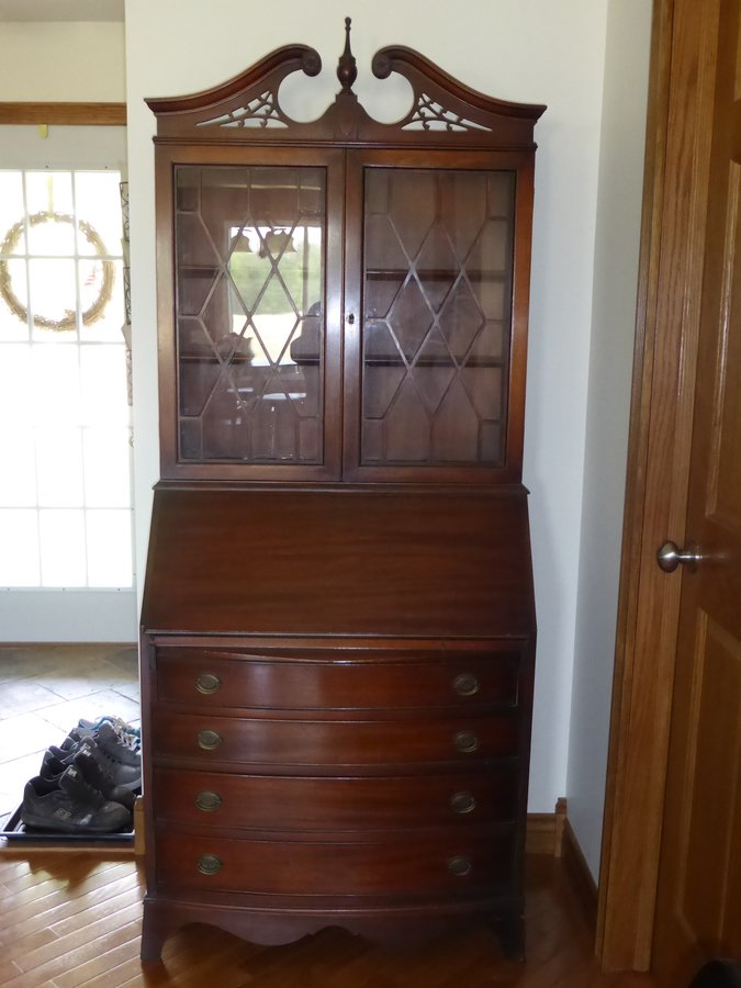 Secretary My Antique Furniture Collection