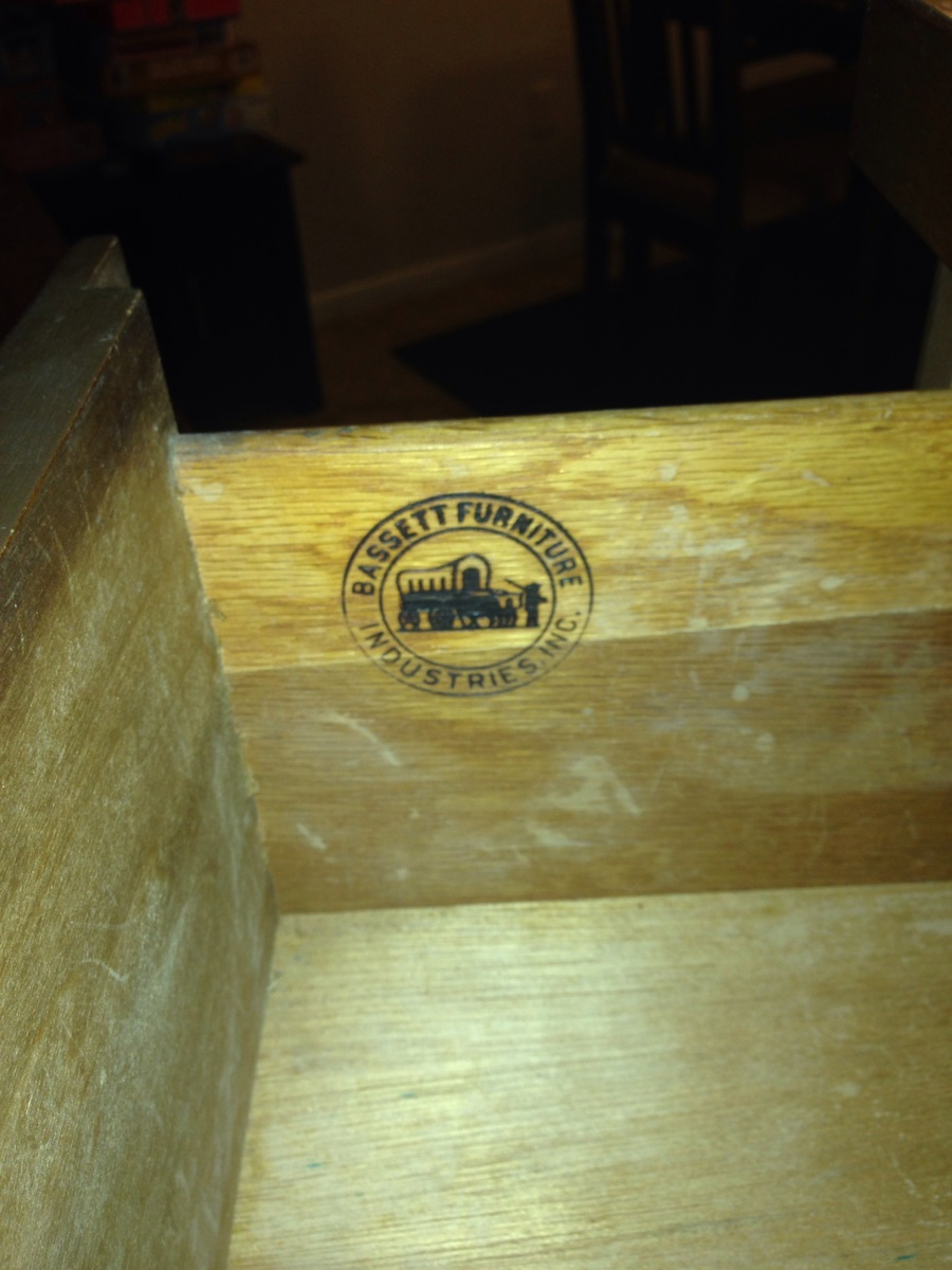 Bassett Furniture Industries Inc Dresser   My Antique Furniture ...