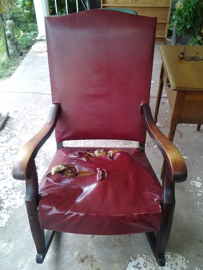 I Have A Sikes Rocking Chair From The Buffalo Branch I