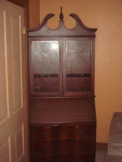 Antique Drop Front Secretary Desk >> Secretary | My Antique Furniture Collection