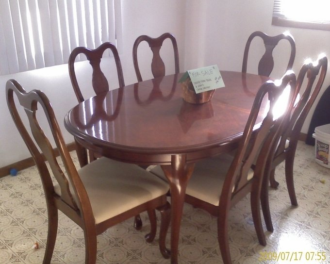 Trying To Get More Info On Dixie Dining Room Set My