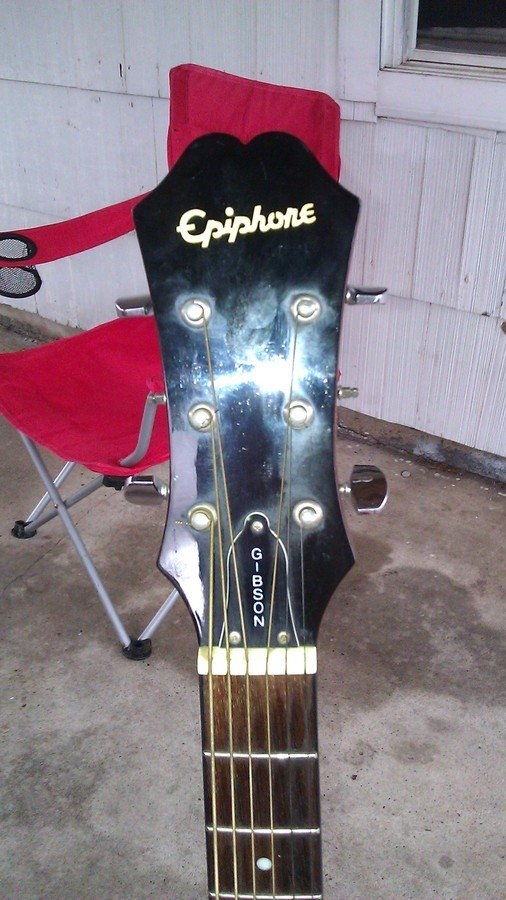 how much is my gibson epiphone acoustic guitar worth serial my guitar buddies. Black Bedroom Furniture Sets. Home Design Ideas