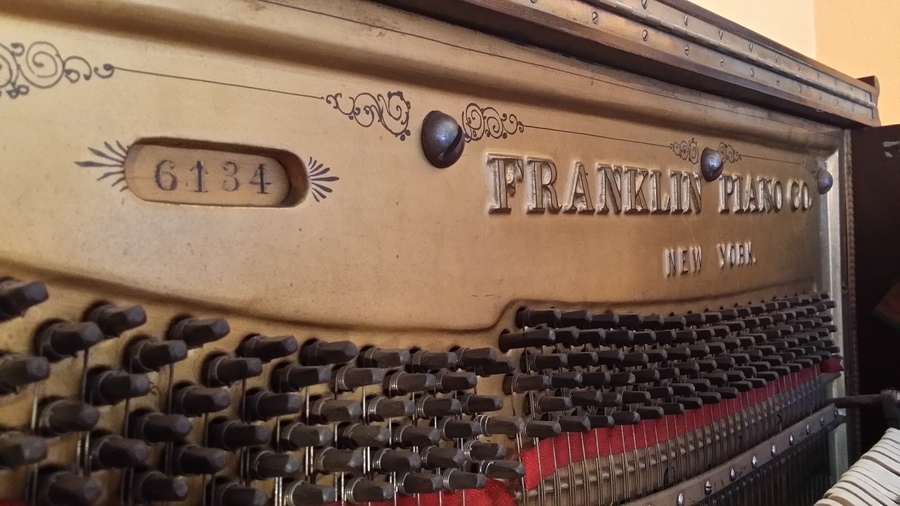 I Have An Upright Franklin Piano Co Serial 6134 Piano Any Advice On How M My Piano Friends