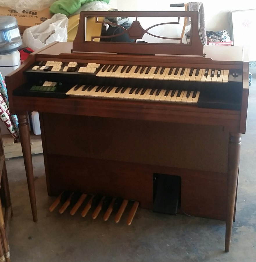 1960 Wurlitzer Organ Model 4023 Original Bench