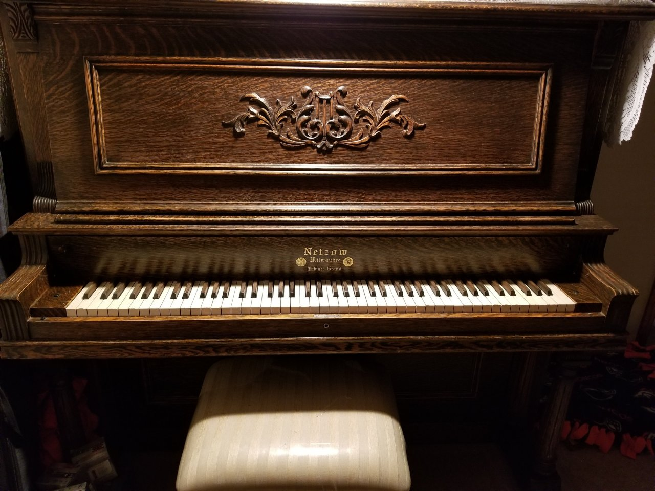 Netzow Cabinet Grand My Piano Friends