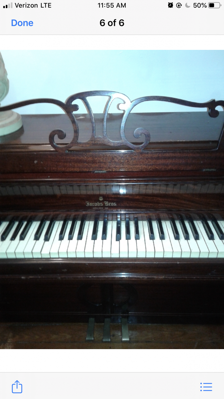 What's The Value Of A Spinet Winter&company Newyork ...