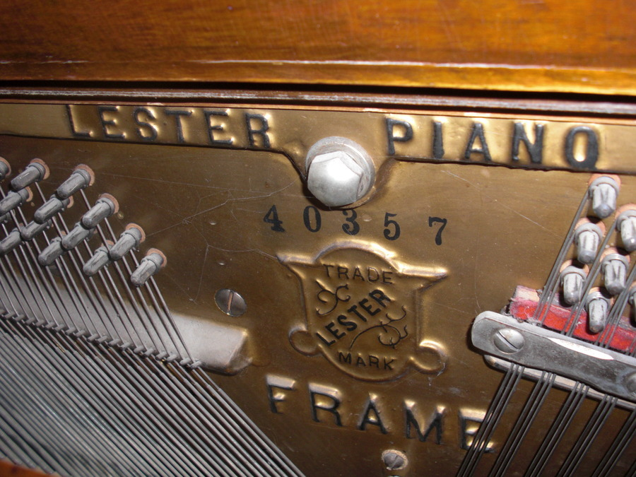 Lester piano betsy ross spinet serial numbers