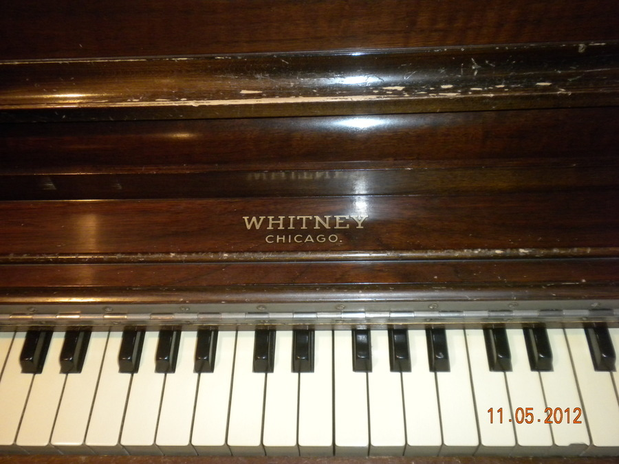 Whitney Upright Piano My Piano Friends