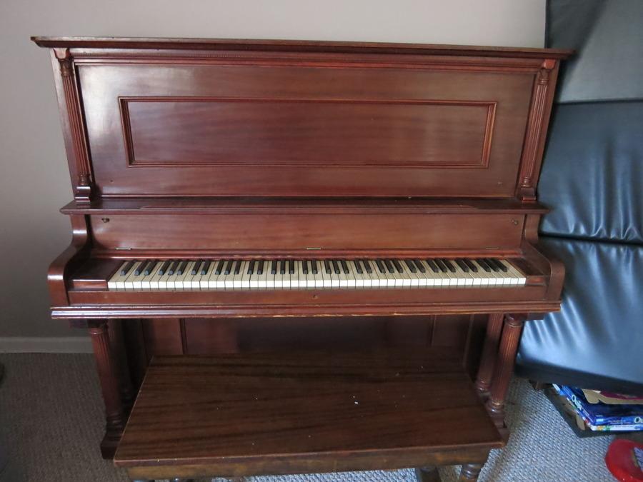 Hi I Have A Hamilton Cabinet Grand Piano That Says Quot D