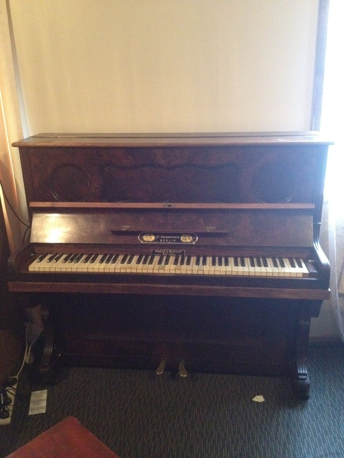 I Have A F.rosener Upright Piano Made In Berlin Im Not Sure ... | My Piano Friends
