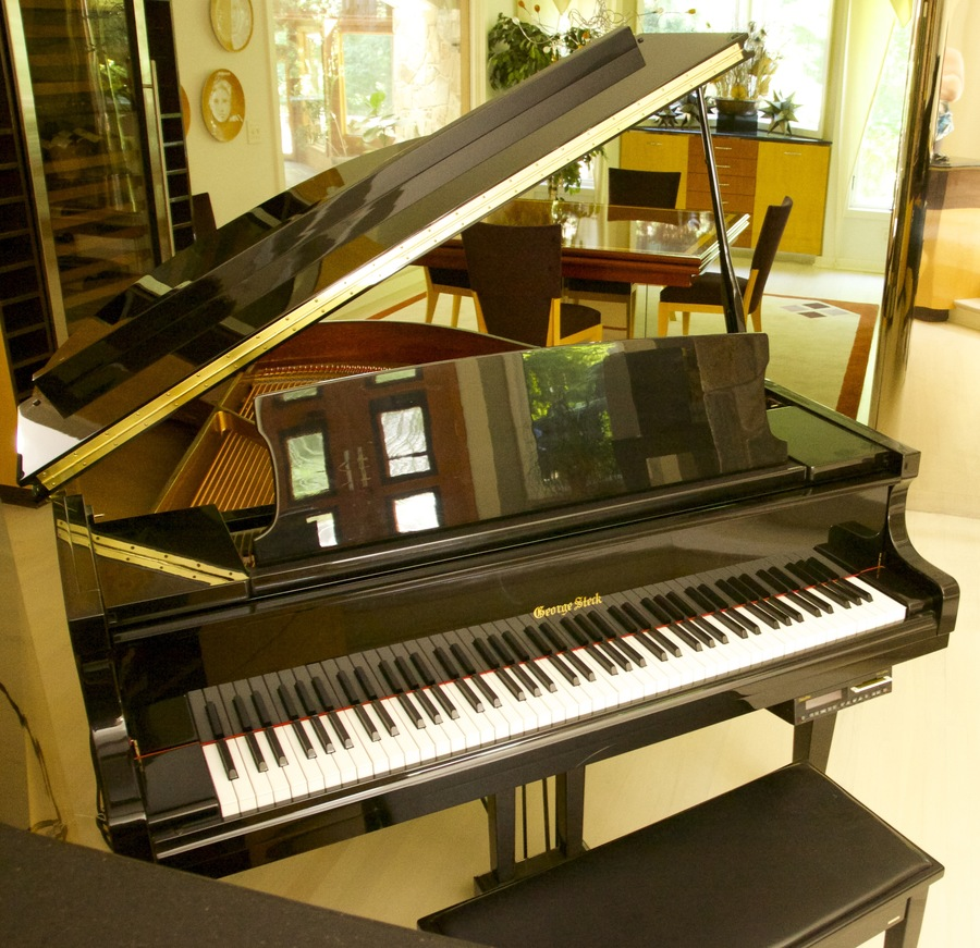 660c2f44dca I bought a George steck baby grand piano that s also a digital player piano.