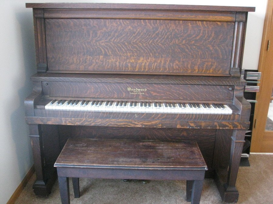 Woodward Cabinet Grand Piano Age | My Piano Friends