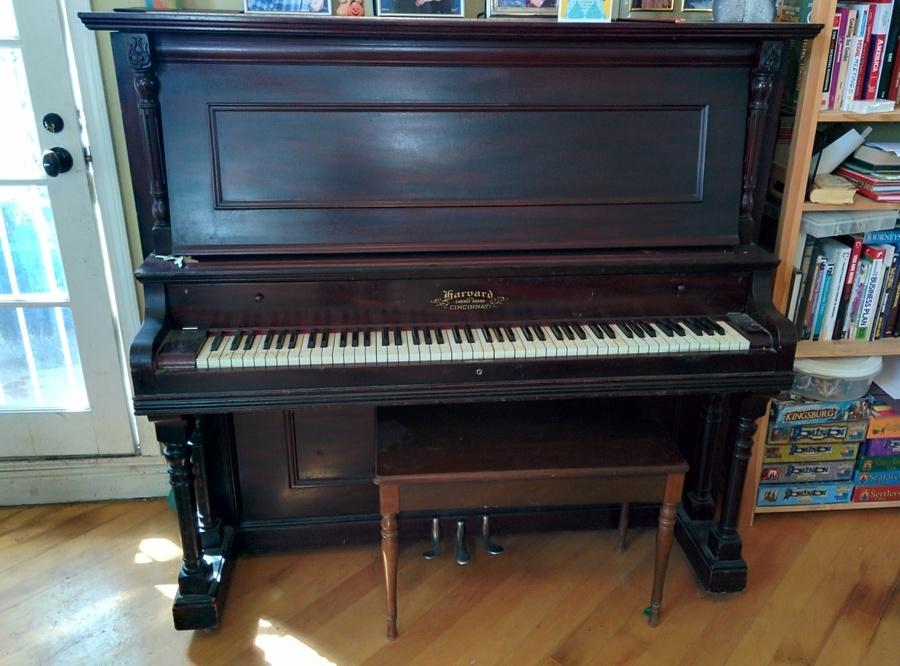 How Old Is My Harvard Cincinnati Upright Grand Piano? Serial ...