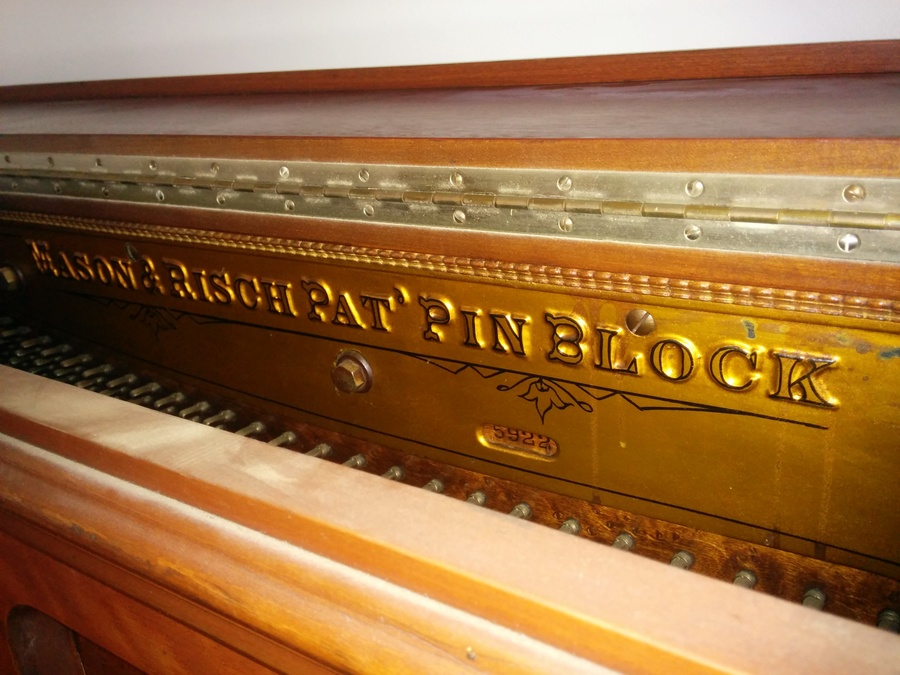 mason and risch upright piano serial number