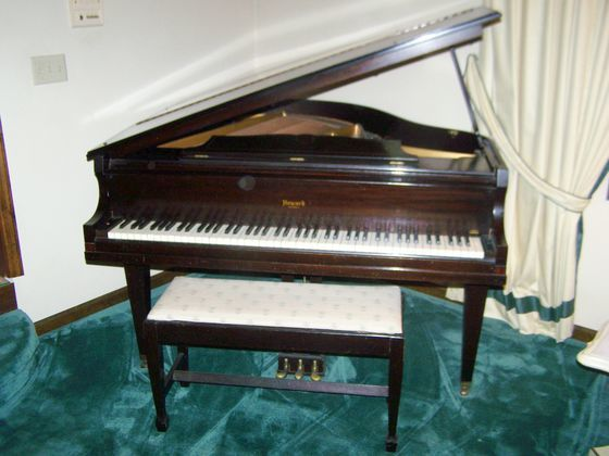 I Purchased A Howard Baby Grand Piano By Baldwin Serial Number 243851 I Wa My Piano Friends
