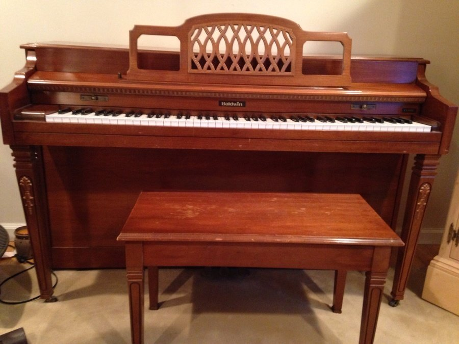 baldwin spinet piano serial numbers