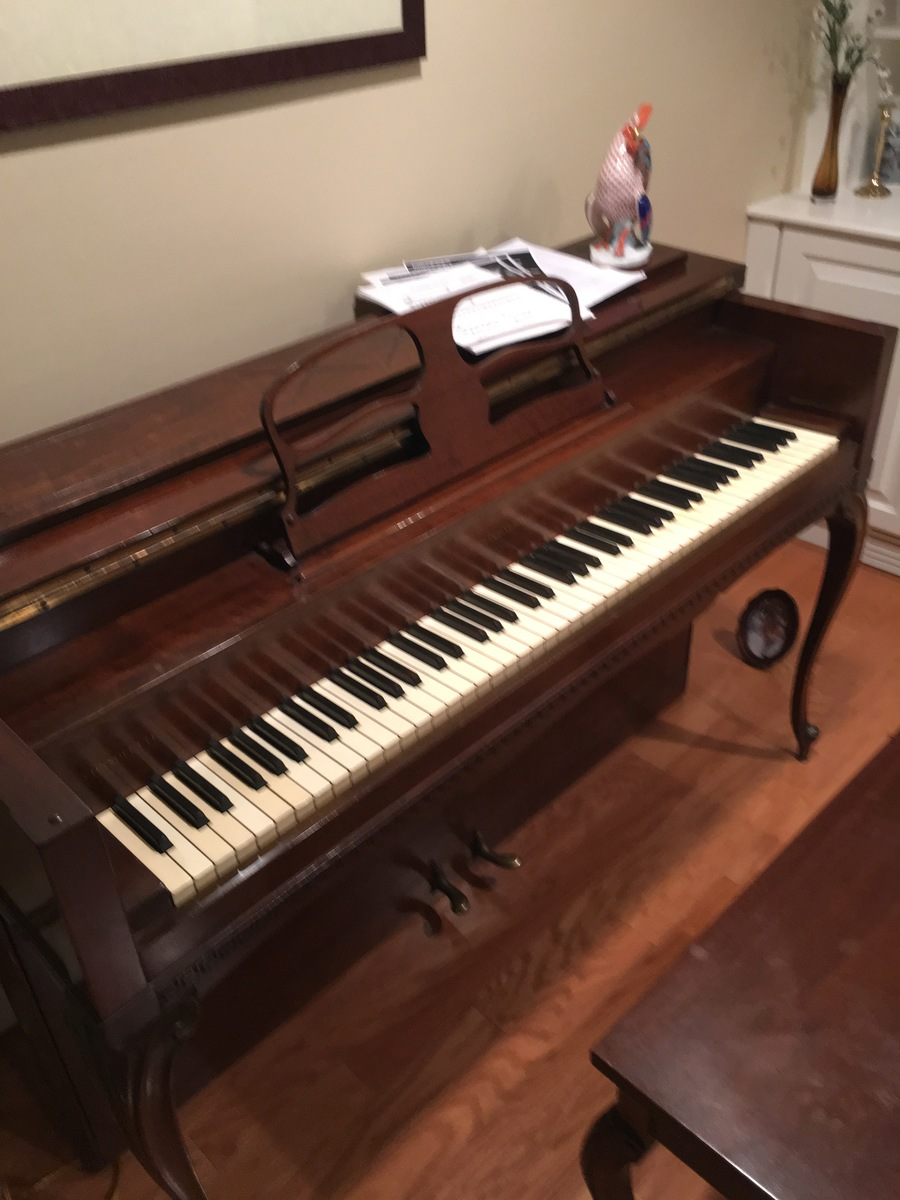 I Have A Harrington Hard Man Piano Serial Number 127744is It