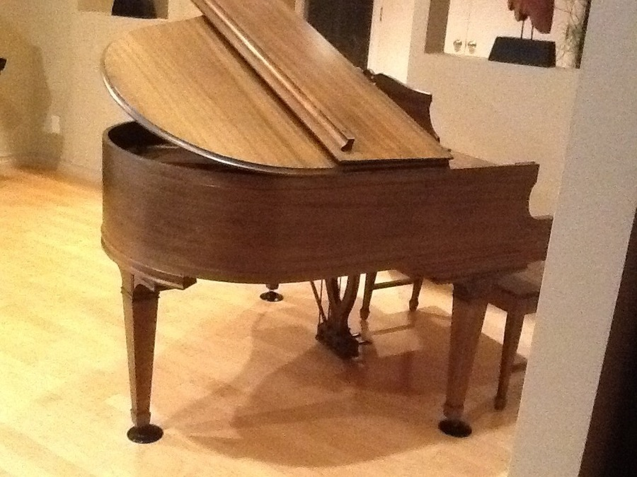 i have a fischer new york baby grand piano serial no