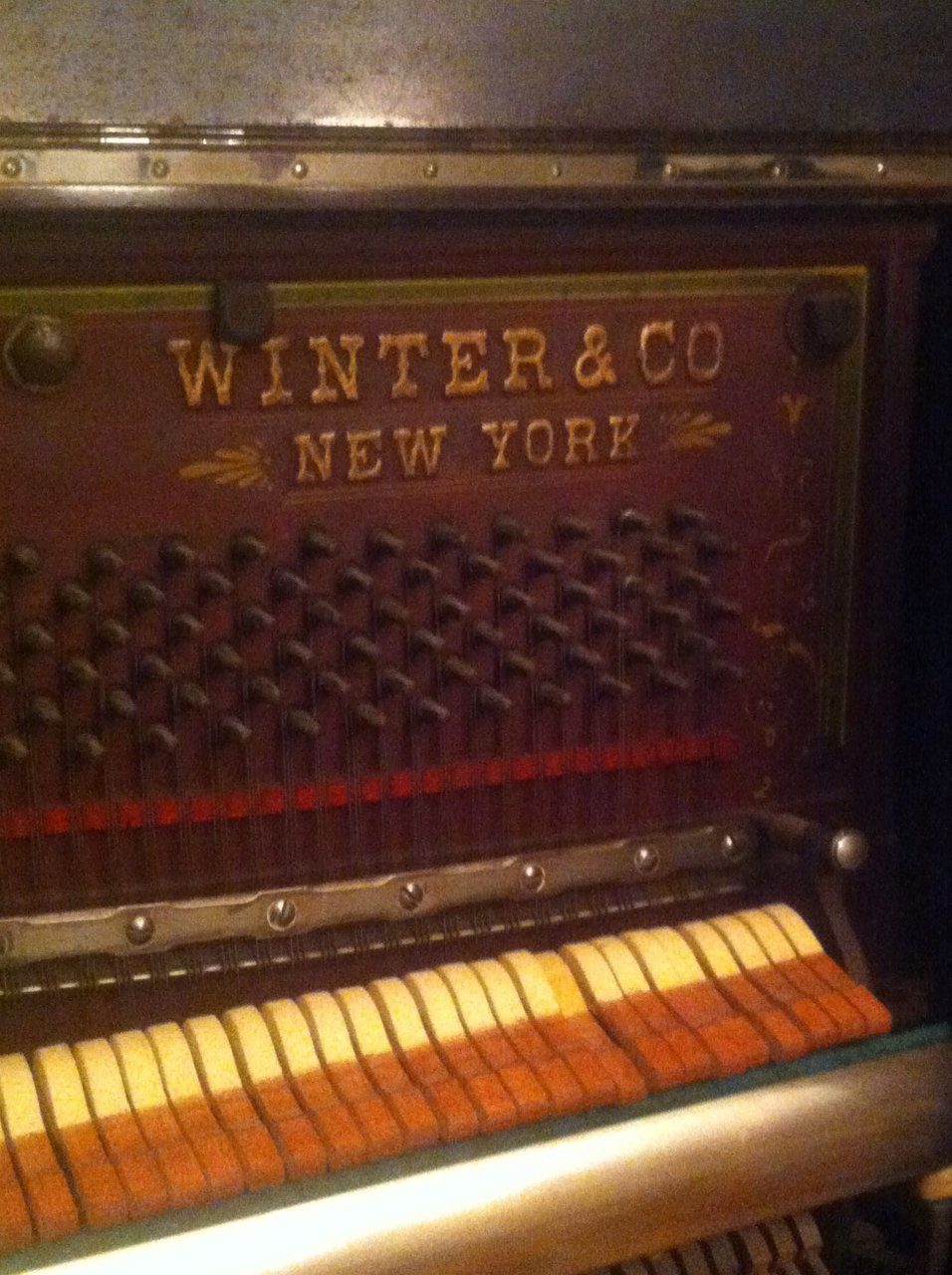 Winter And Company Piano Serial Number