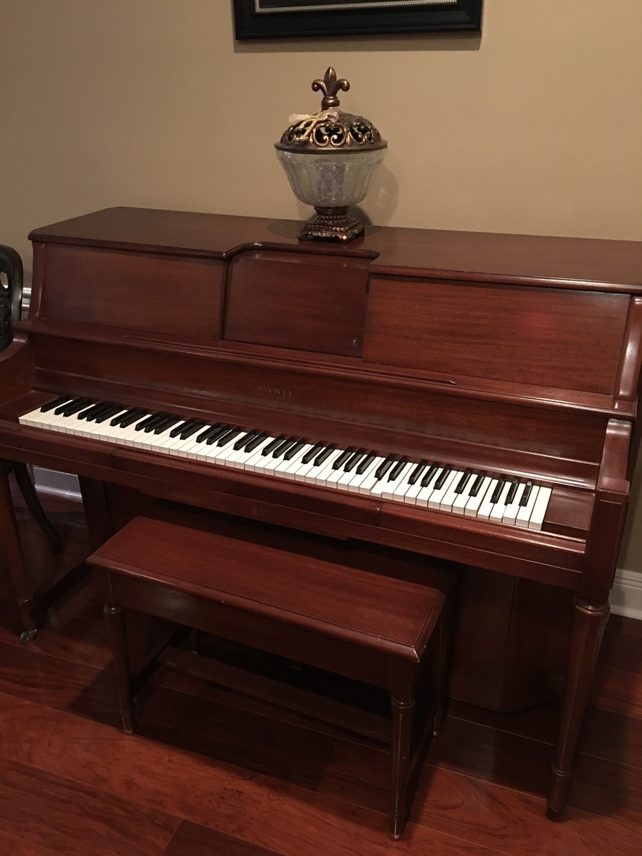 I Have A Cable Upright Player Piano 18869 1915 Good
