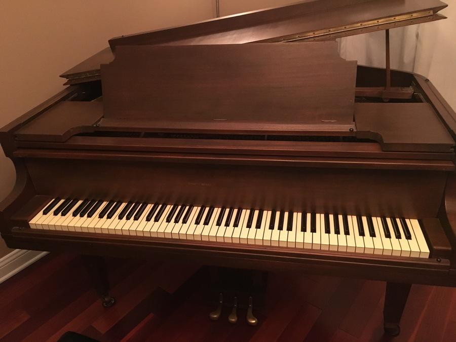 Lyon And Healy Baby Grand Piano