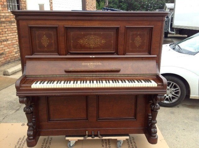 George Steck Cabinet Grand Piano Serial Number 17186 I