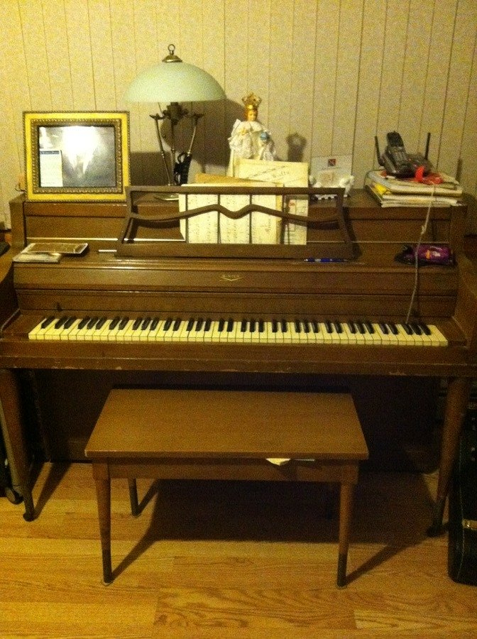 Upright piano serial number search