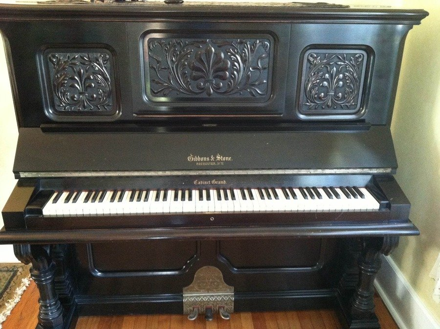 How Old Is My Gibbons Amp Stone Cabinet Grand Piano My
