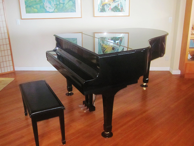 What Is The Price For A Used Yamaha Grand Piano In Ebony