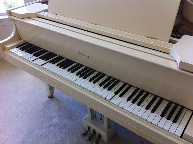 I Have A Vintage Schleicher & Sons Baby Grand Piano. I ...