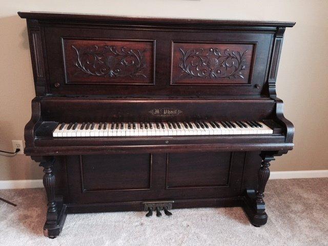 Mcphail Boston Upright Agemanufacture Date My Piano Friends