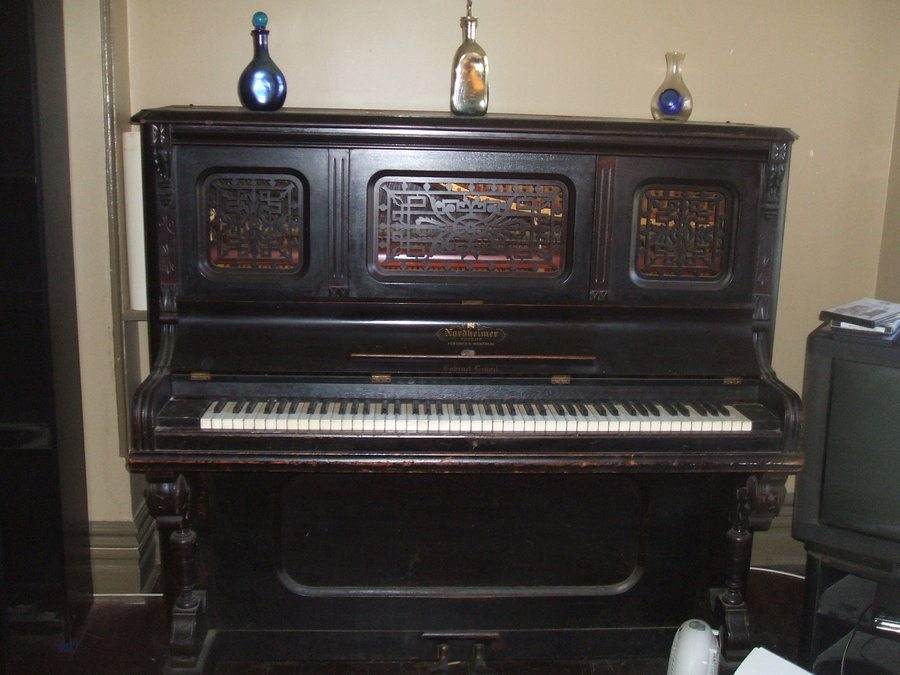 Just Wondering How Old My Nordheimer Cabinet Grand Might