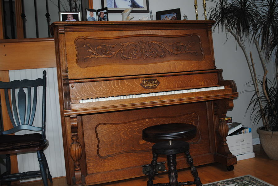 I Have A Howard Cabinet Grand Upright Piano 54 Inches
