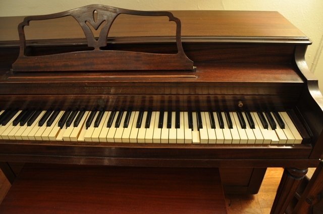 Mehlin Amp Sons Piano 1950 S Upright My Piano Friends