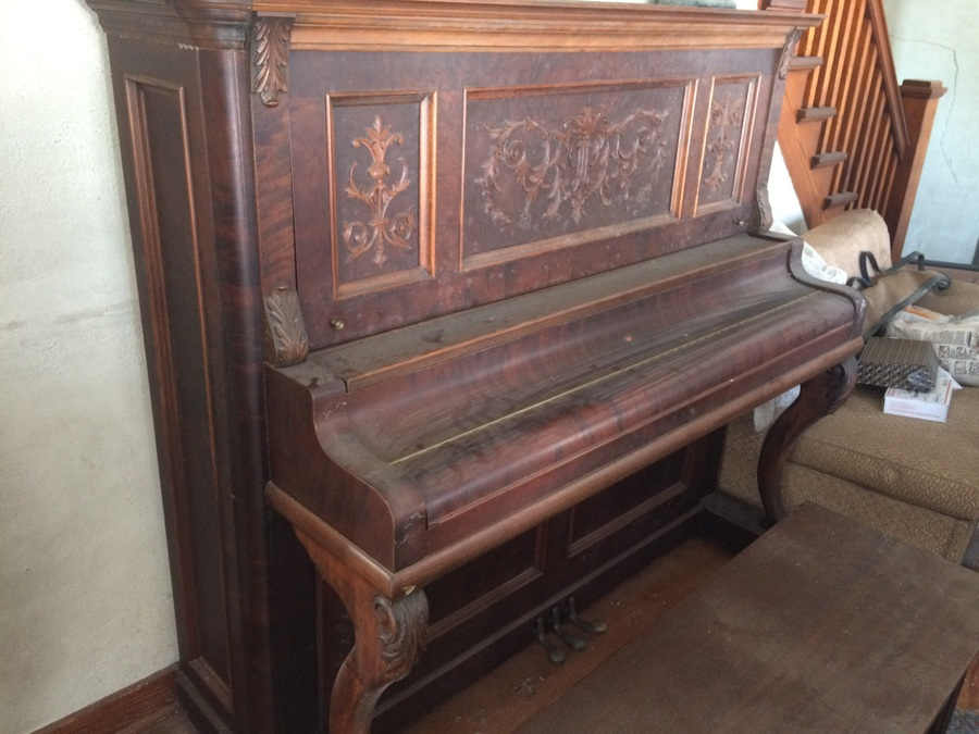I Acquired An Old Emerson Cabinet Grand Piano Serial