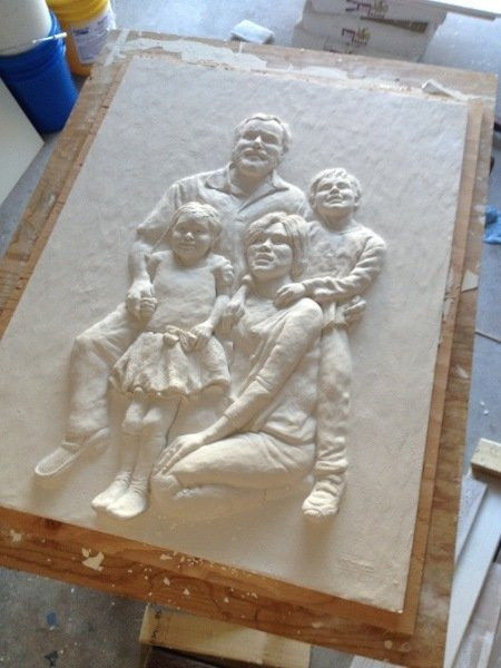 How I Create My Bas Relief Sculptures My Sculptures Gallery