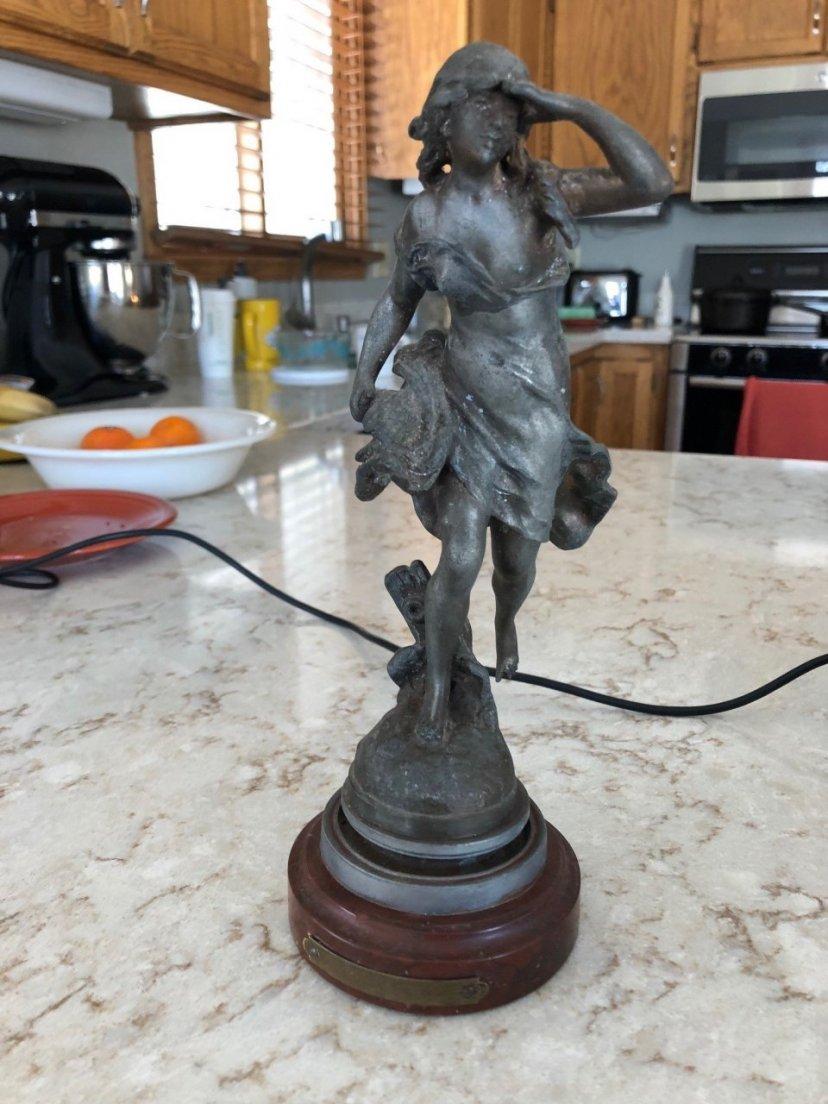 Bronze Auguste Moreau Or Spelter? | My Sculptures Gallery