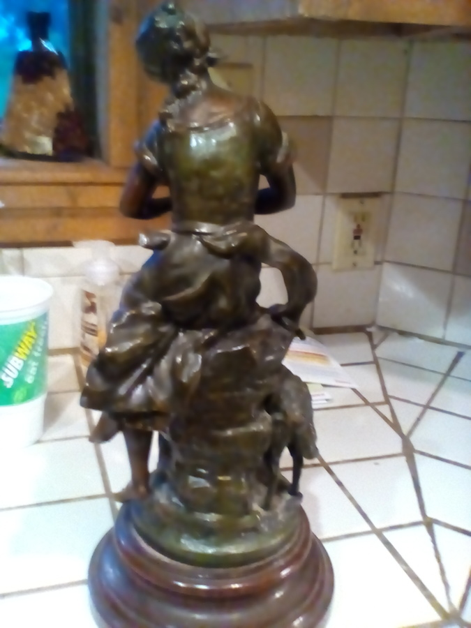 LF Moreau Bronze Statue | My Sculptures Gallery