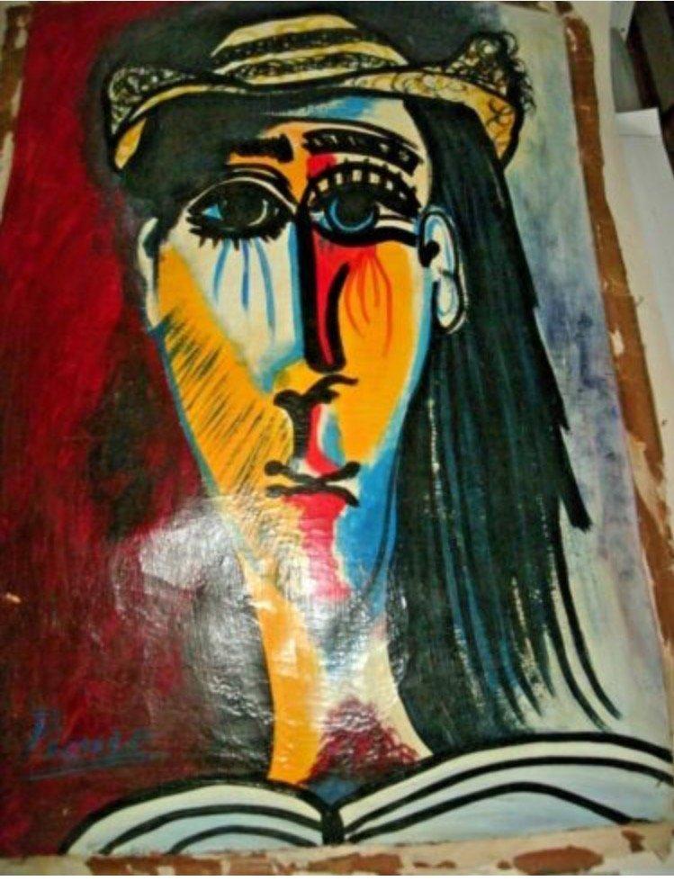 Buste De Femme Au Chapeau | Pablo Picasso Club
